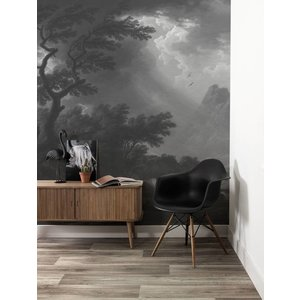 KEK Amsterdam Photo Wallpaper 'Golden Age Landscapes' black-white