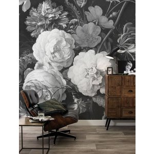KEK Amsterdam Photo Wallpaper 'Golden Age Flowers I'