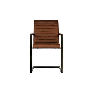 WOOOD Chair Bas cognac