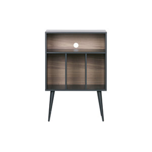 WOOOD James Small Cabinet Wood Black [fsc]