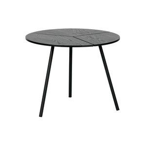 WOOOD Rodi Coffee Table M Wood/metal Black 38xØ48