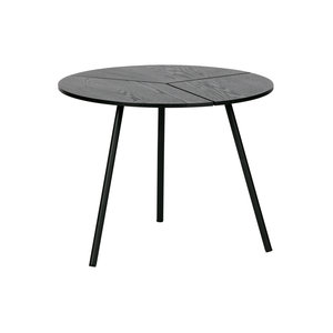 WOOOD Side Table Rodi M wood metal black