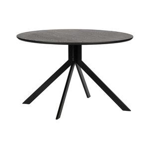 WOOOD Tisch Bruno holz schwarz