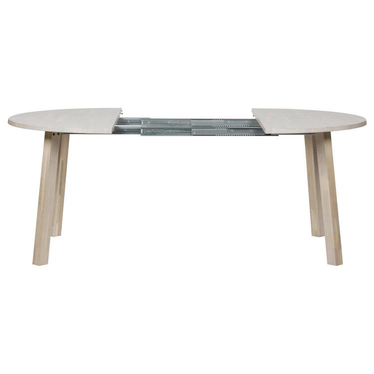 WOOOD WOOOD Dinging Table Extendable Lange Jan Round oak