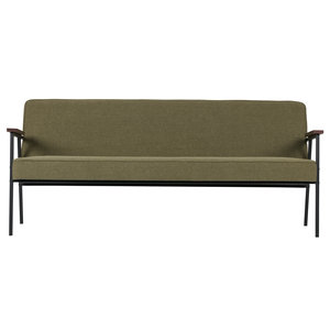 WOOOD Sofa Elisabeth olive green