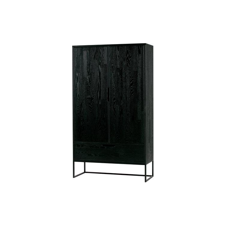 WOOOD WOOOD Cupboard Silas oakwood black