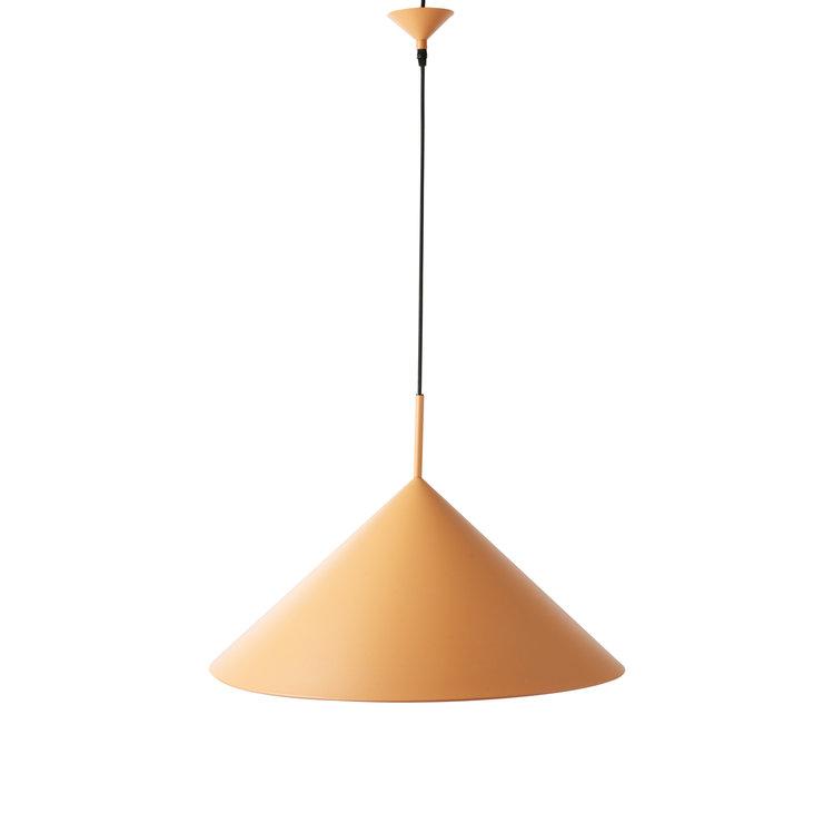 HKliving HKliving Hanglamp metalen driehoek hanglamp mat perzik