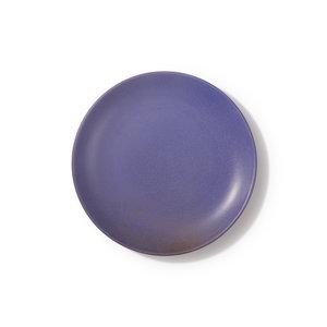 HKliving bold-basic-ceramics: lila Seitenplatte