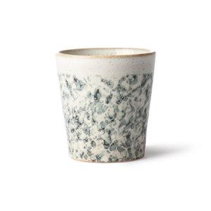 """HKliving Becher 70er Jahre Keramik: """"Hagel"""""""