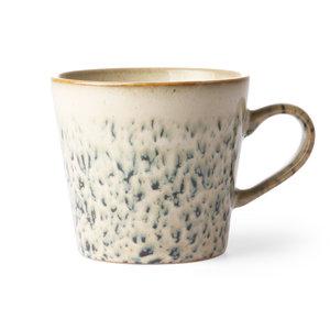"""HKliving HKliving beker cappuccino jaren 70 keramiek """"Hail"""""""