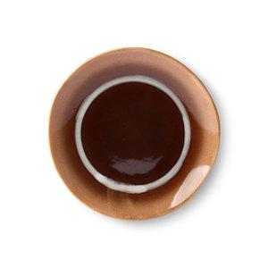 """HKliving HKliving Dessertteller 70er Keramik """"Tornado"""" Ø17,5cm"""