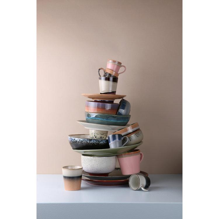 HKliving HKliving Bowls 70's Ceramic Set of 4 Medium