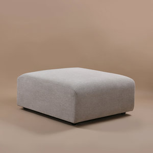 HKliving jax couch: element hocker sneak, light grey