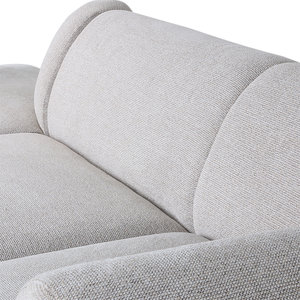 HKliving HKliving jax couch: element right, light grey