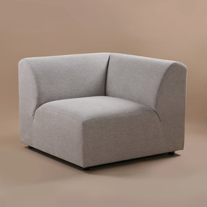HKliving jax couch: element right, sneak, light grey