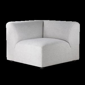 HKliving jax couch: element left, sneak, light grey