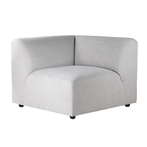 HKliving Jax Sofa: Element links, hellgrau