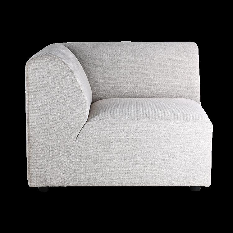 HKliving HKliving Jax sofa: element left, light gray