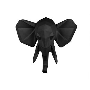 Present Time Wandhalter Origami Elefant