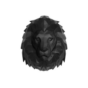 Present Time Wandhalter Origami Lion