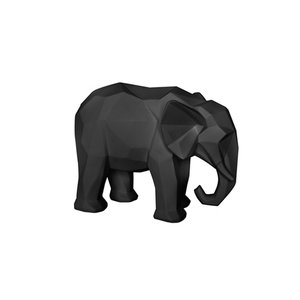 Present Time Origami elephant statue