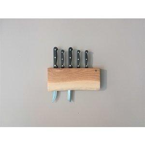 Brût Home Industrials Meshouder Hout 4 × 30 × 15 cm