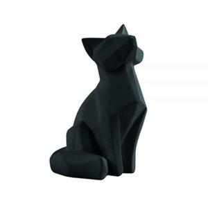 Present Time Small origami fox statue