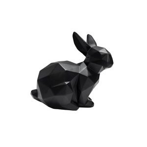 Present Time sitting origami rabbit statue