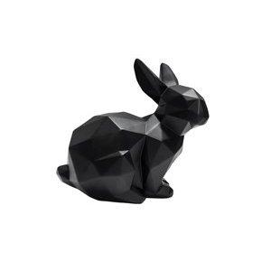 Present Time sitzende Origami-Hasenstatue
