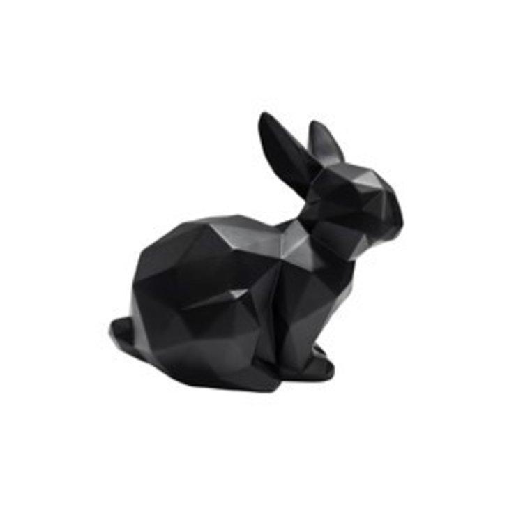 Present Time Gegenwärtige sitzende Origami-Kaninchenstatue