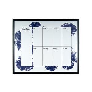 Present Time Memo - & white board Autumn Sense