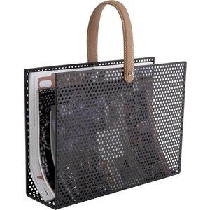 Present Time magazine rack perky mesh