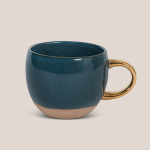 Urban Nature Culture Amsterdam Urban Nature Culture cup reactive glaze legion blue