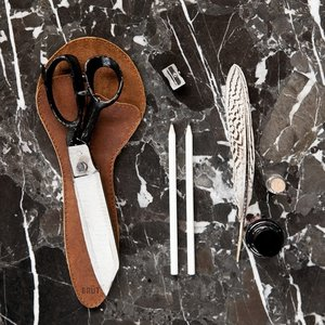 Brût Home Industrials Brût Home Industrials ALL PURPOSE SCISSORS with leather sleeve