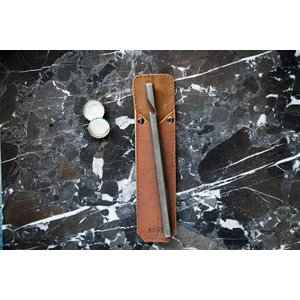 Brût Home Industrials Brût Home Industrials BOTTLE OPENER with leather sleeve