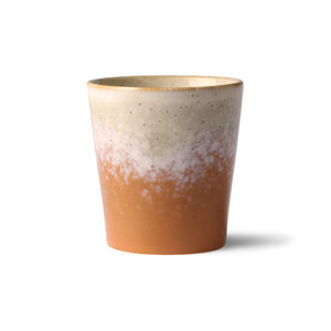 HKliving ceramic 70's mug, set of 2