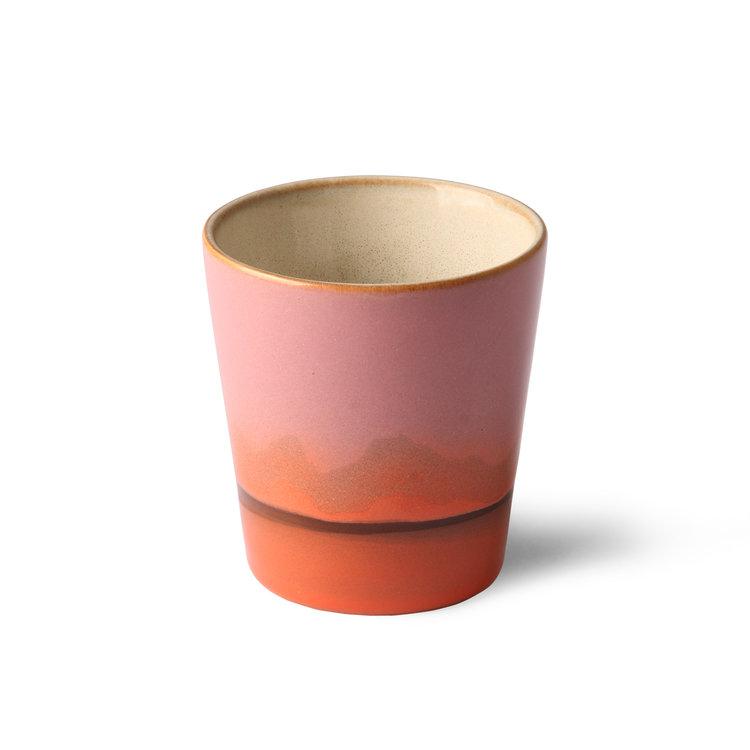 HKliving HKliving Keramik 70er Becher Set von 2