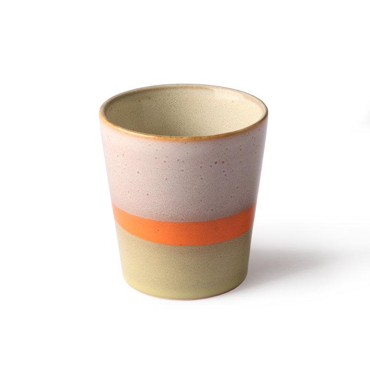 HKliving HKliving ceramic 70's mug set of 2