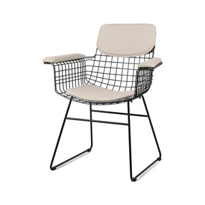 HKliving wire armchair comfort kit sand