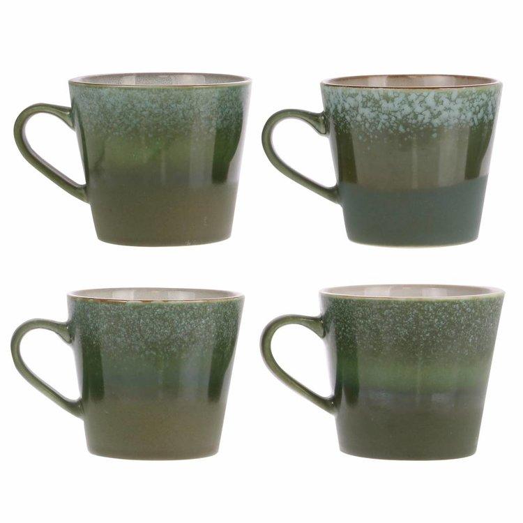 "HKliving HKliving Tasse Cappuccino 70er Jahre Keramik ""Grass""."