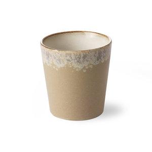 """HKliving Mug 70's Ceramic: """"Bark"""""""