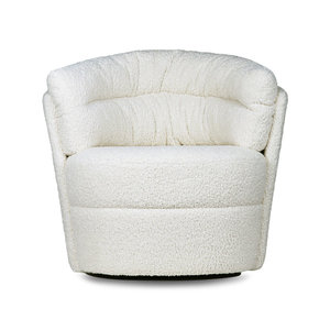 HKliving twister fauteuil cream