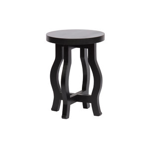 WOOOD Camber plant table wood black