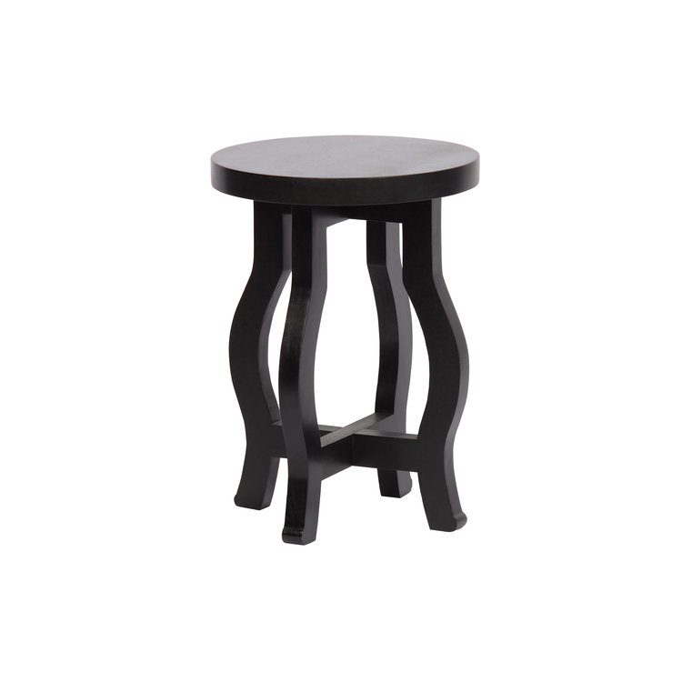 WOOOD WOOOD Camber plant table wood black