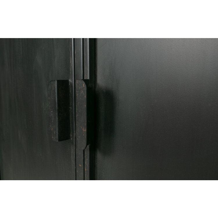 WOOOD WOOOD Wish 2-türiger Schrank Metall schwarz