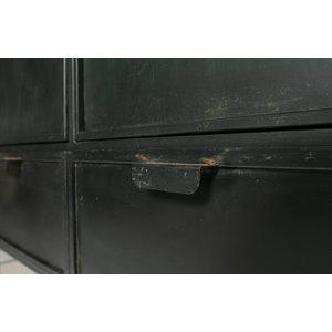 WOOOD WOOOD Wish 2-door cupboard metal black