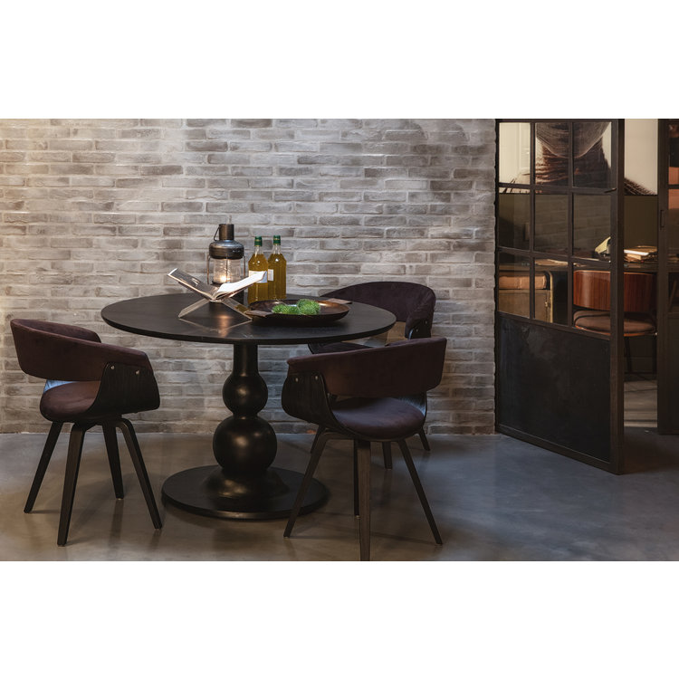 BePureHome BePureHome Blanco dining table ø120cm, mango wood