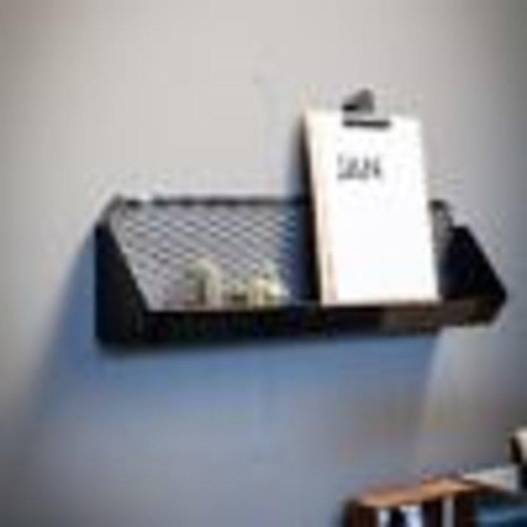Brût Home Industrials Brût Home Industrials Wandrek mesh 70 x 13 x 20 cm