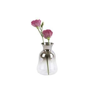 Present Time Present Time Vase Mini Silver Fade, 12 cm