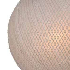 HKliving HKliving Bambus / Papier Pendelleuchte UFO Lampe